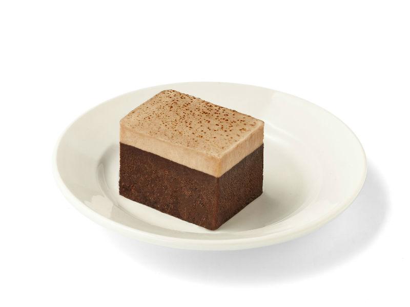 Gâteau chocolat et crème au café