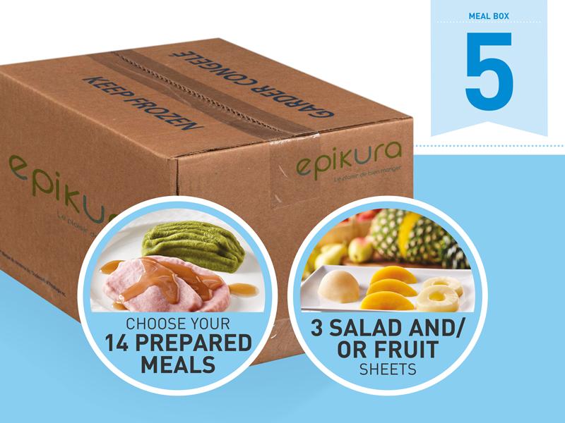 Boîte repas #5 -- Promotion assiette et dôme gratuits