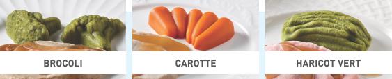 Boite mixte - Légumes menu 1